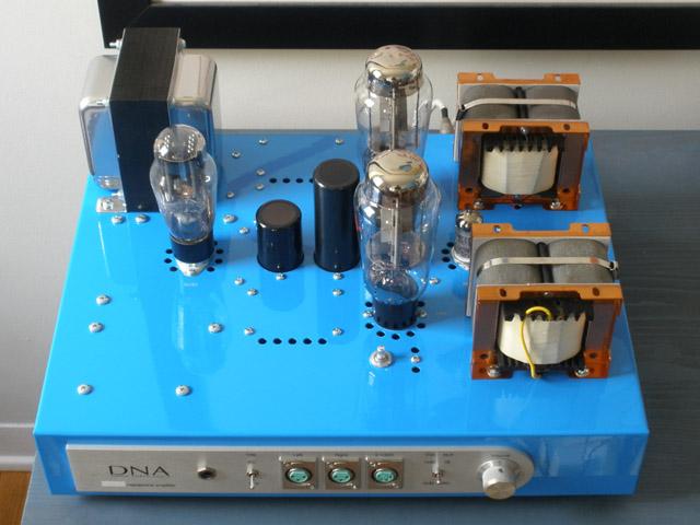 DNA Stellaris 2A3 single ended triode SET vacuum tube headphone ...