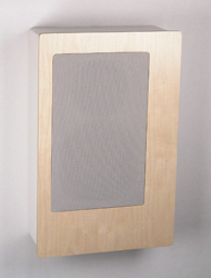 In wall speakers decor